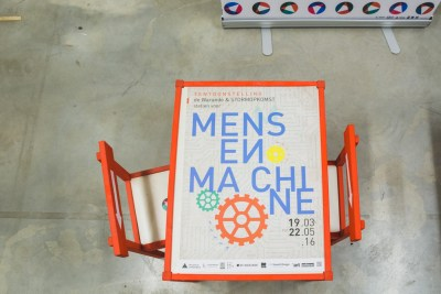 expo mens en machine in de warande