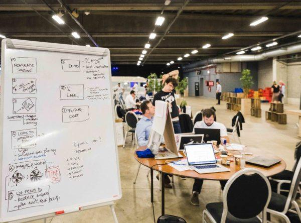 ChainPORT Hackathon ©Sacha Jennis