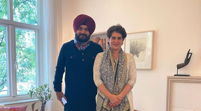 नवजोत सिंह सिद्धू के नाम पर प्रियंका गांधी की मुहर: अन्य राज्यों में भी दिखेगा कांग्रेस के 'पंजाब मॉडल' का असर!