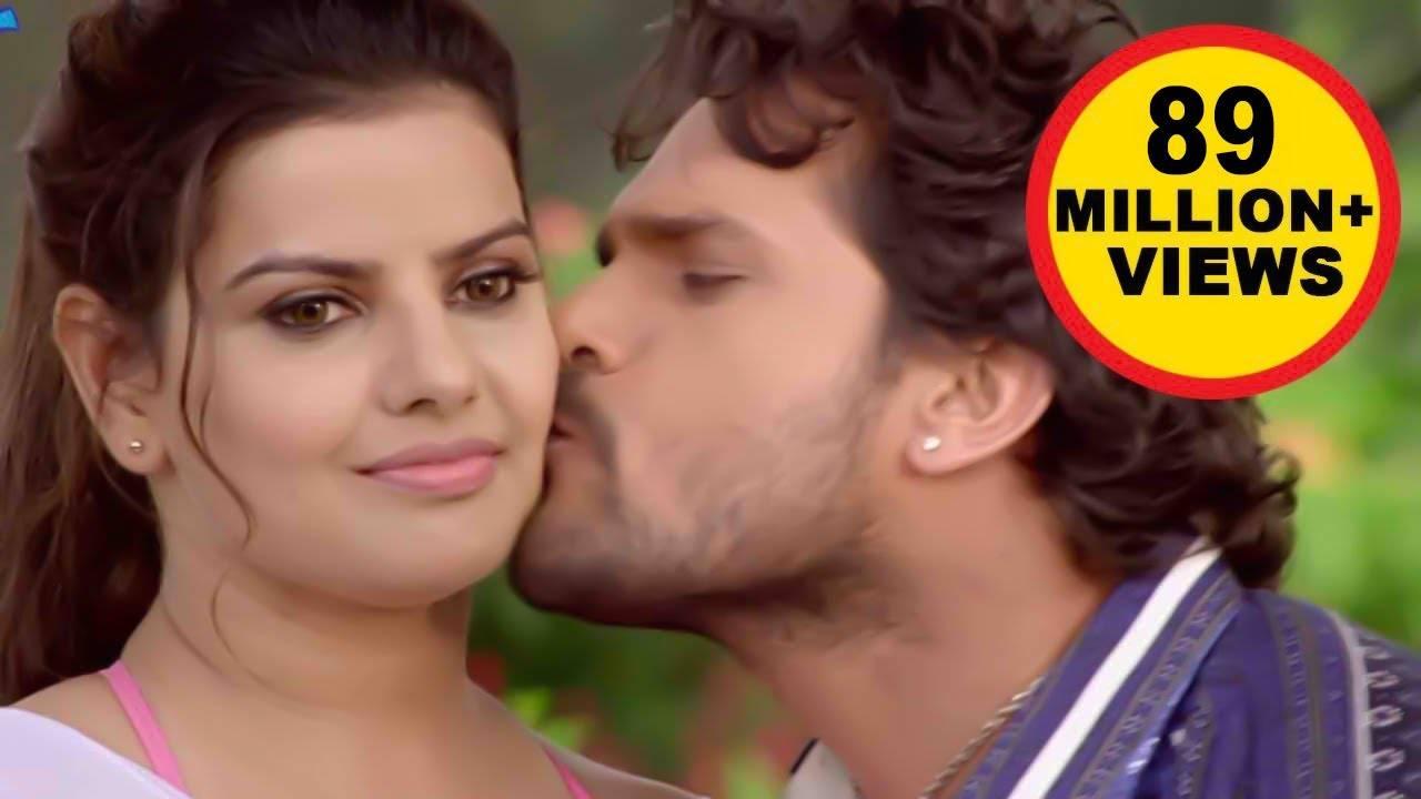खेसारी लाल ने मधु शर्मा को बेवकूफ बनाकर लिया 'चुम्मा', इंटरनेट पर वायरल हुआ Video
