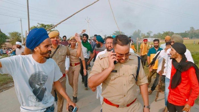lakhimpur kheri farmers protest