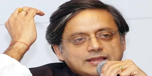 hindi is not our language says shashi tharoor