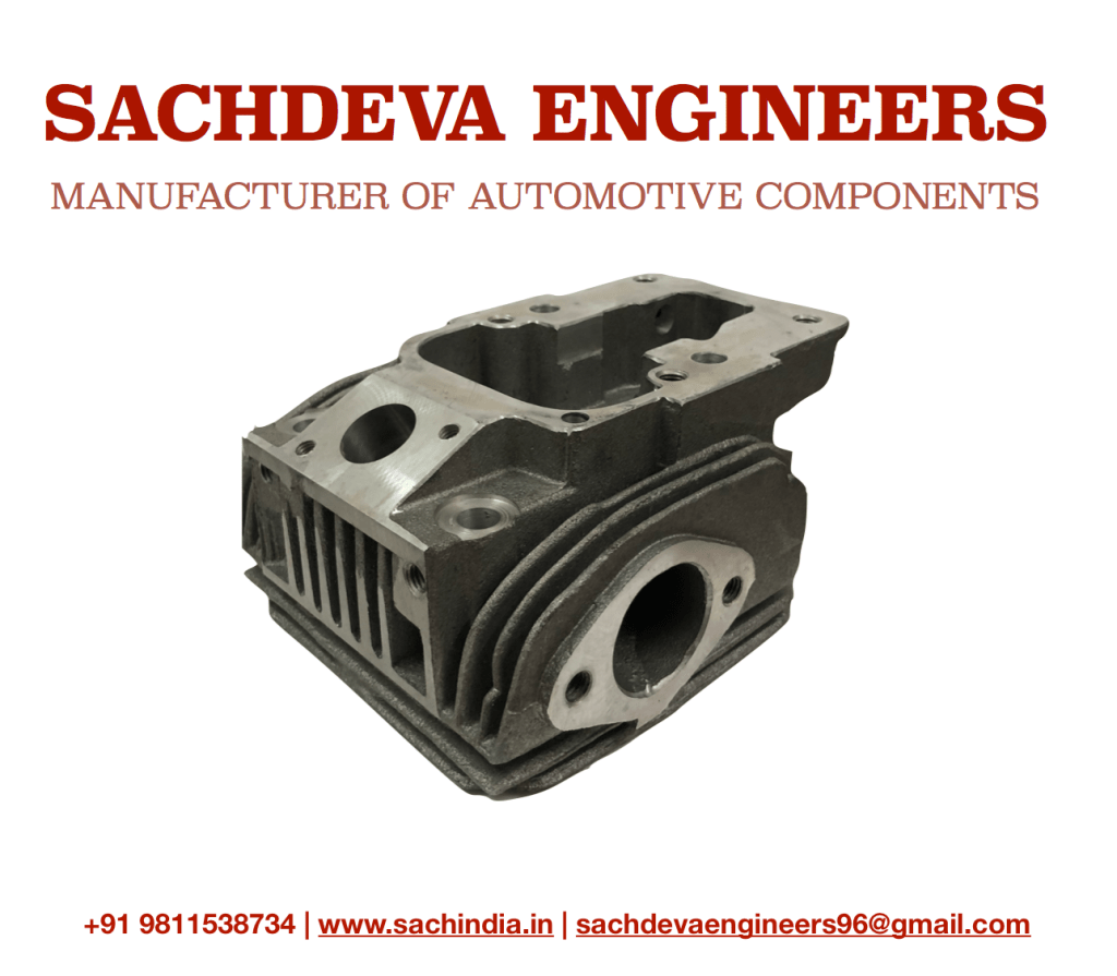 CYLINDER HEAD 6LD 360 SPARE PART FOR LOMBARDINI 6LD 360