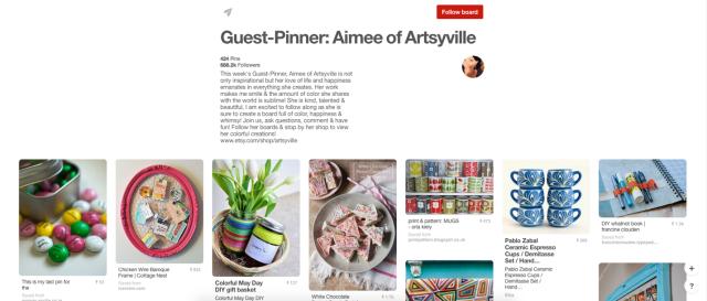 guest pinner pinterest