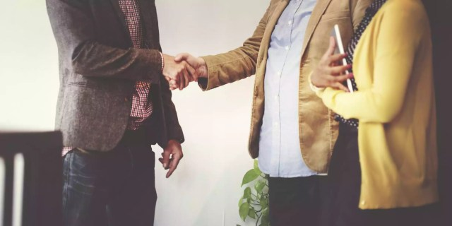 Business Team Partnership