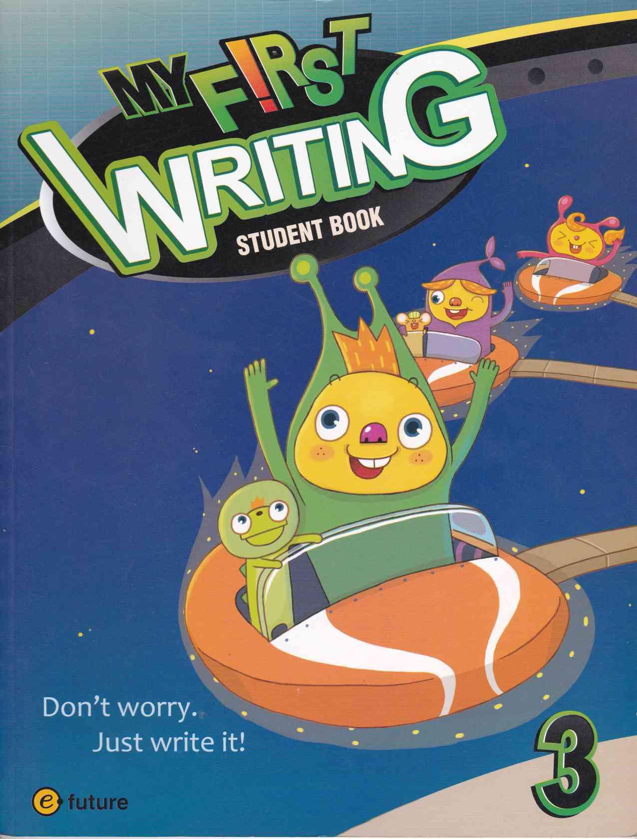 Sach My First Writing 3 Student Book Amp Workbook