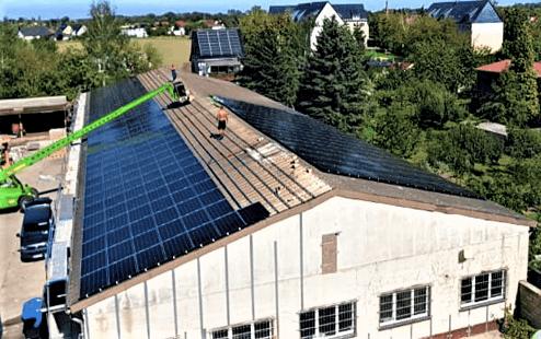 200 kWp in Sachsen
