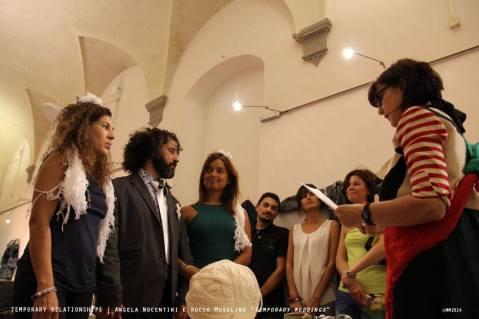 """Temporary Weddings"" in the SACI Gallery"