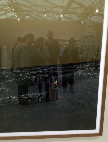 Viewing art at the Frieze Art Fair