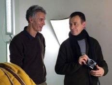SACI MFA in Photography instructors, Jacopo Santini & Romeo Di Loreto