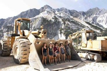 SACI scultpure class Carrara and Pietrasanta, Summer 2015