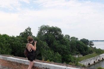 SACI photography student on the Venice Summer program