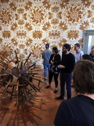 SACI MFA students on tour of Ai Weiwei exhibition at the Palazzo Strozzi
