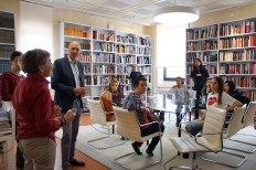 SACI's Visual Design course field trip to the Salvatore Ferragamo Museum