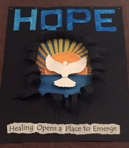 Healing opens a place to emerge