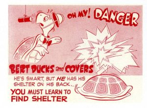Bert Duck and Cover