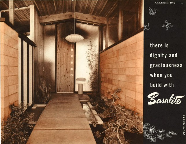 Basalite Brochure Cover; Courtesy UCLA