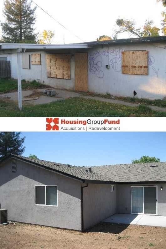 HGF - Before & After - Rear