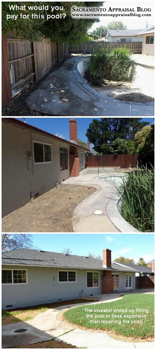 Pool fill-in project - Sacramento Appraisal Blog