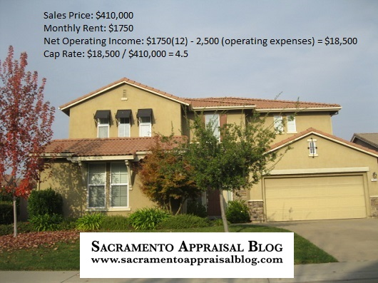 Example for determining cap rate - sacramento appraisal blog