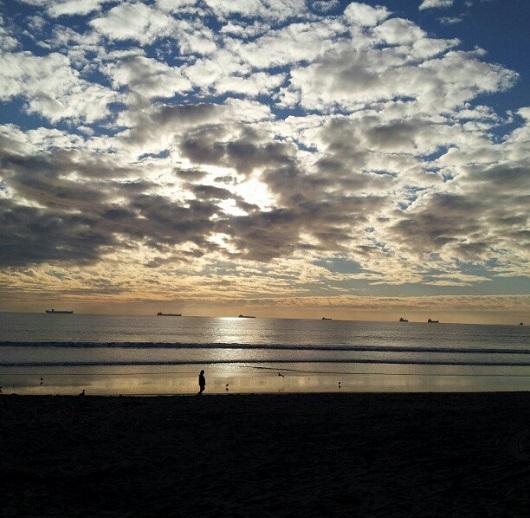 Sunset Beach - no filter - photo by Sacramento Appraisal Blog