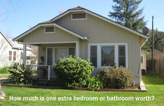 How Much Is One Extra Bedroom Or Bathroom Worth?