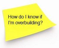overbuilding - by Sacramento Appraisal Blog