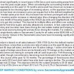 market description for Elk Grove May 2013 - by Sacramento Appraisal Blog