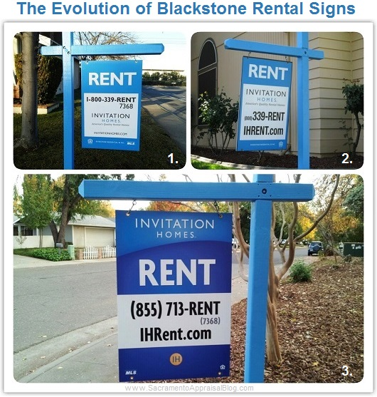 Blackstone Invitation Home Signs in Sacramento
