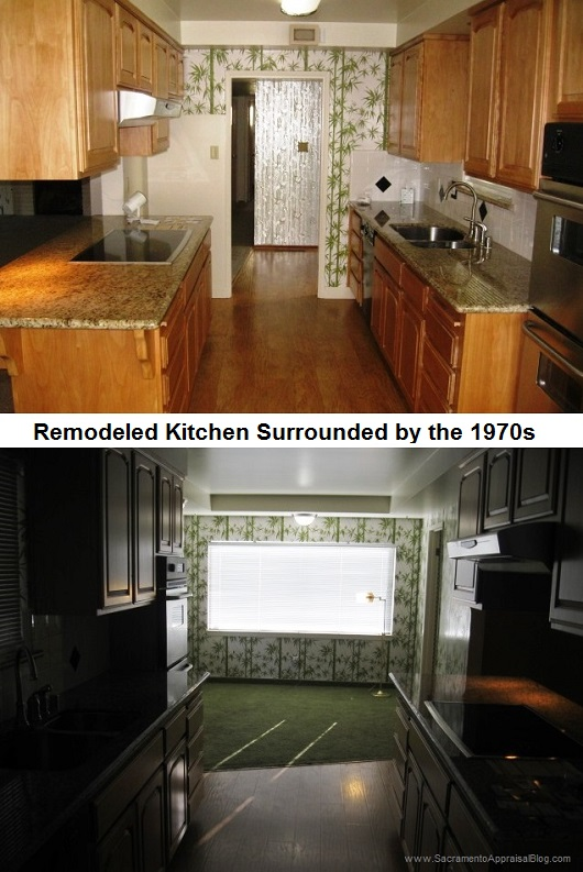 PARTLY REMODELED