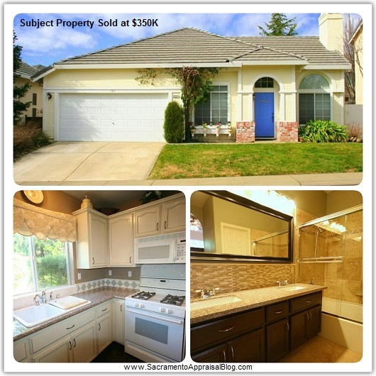 upgraded subject property - by sacramento appraisal blog