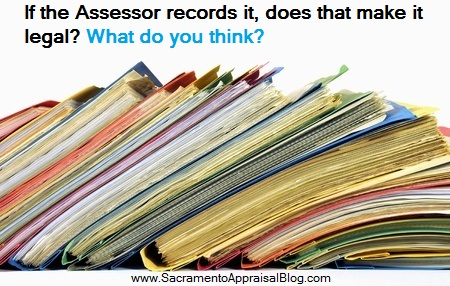 official records - image purchased by sacramento appraisal blog and used with permission - text
