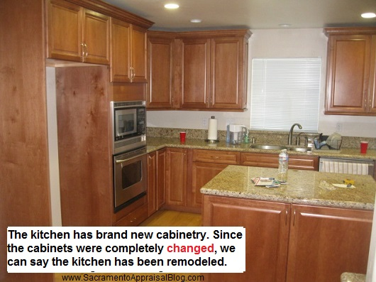 remod kitchen - sacramento appraisal blog