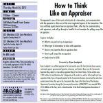 think like an appraiser