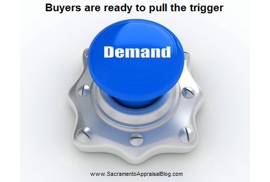 buyers are ready to pull the trigger - image purchased by sacramento appraisal blog and used with permission