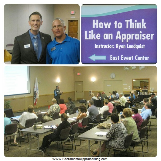 How to think like an appraiser class at SAR