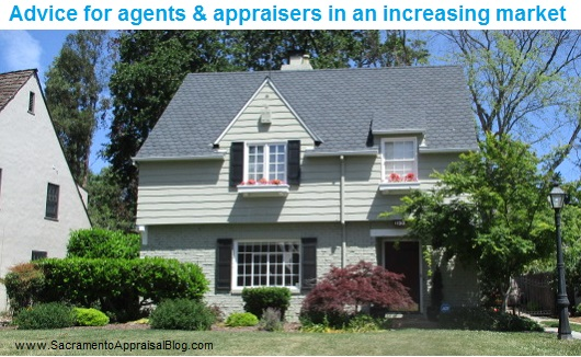 increasing market advice for agents and appraisers - sacramento regional appraisal blog