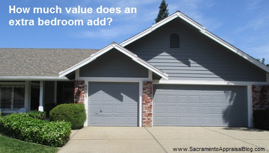 value of a bedroom - sacramento appraisal blog