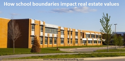 school boundaries and real estate values - sacramento appraisal blog