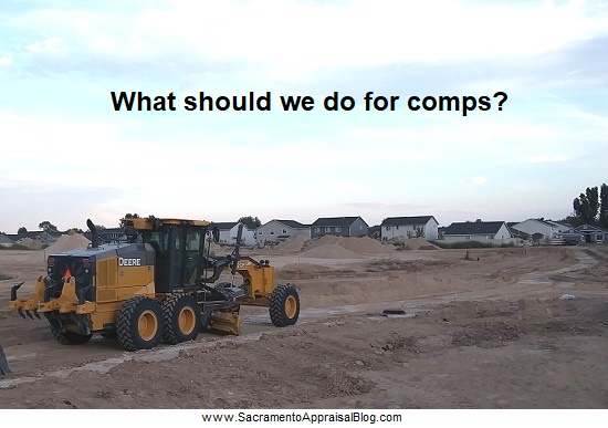 Can You Use Brand New Sales From The Builder As Comps