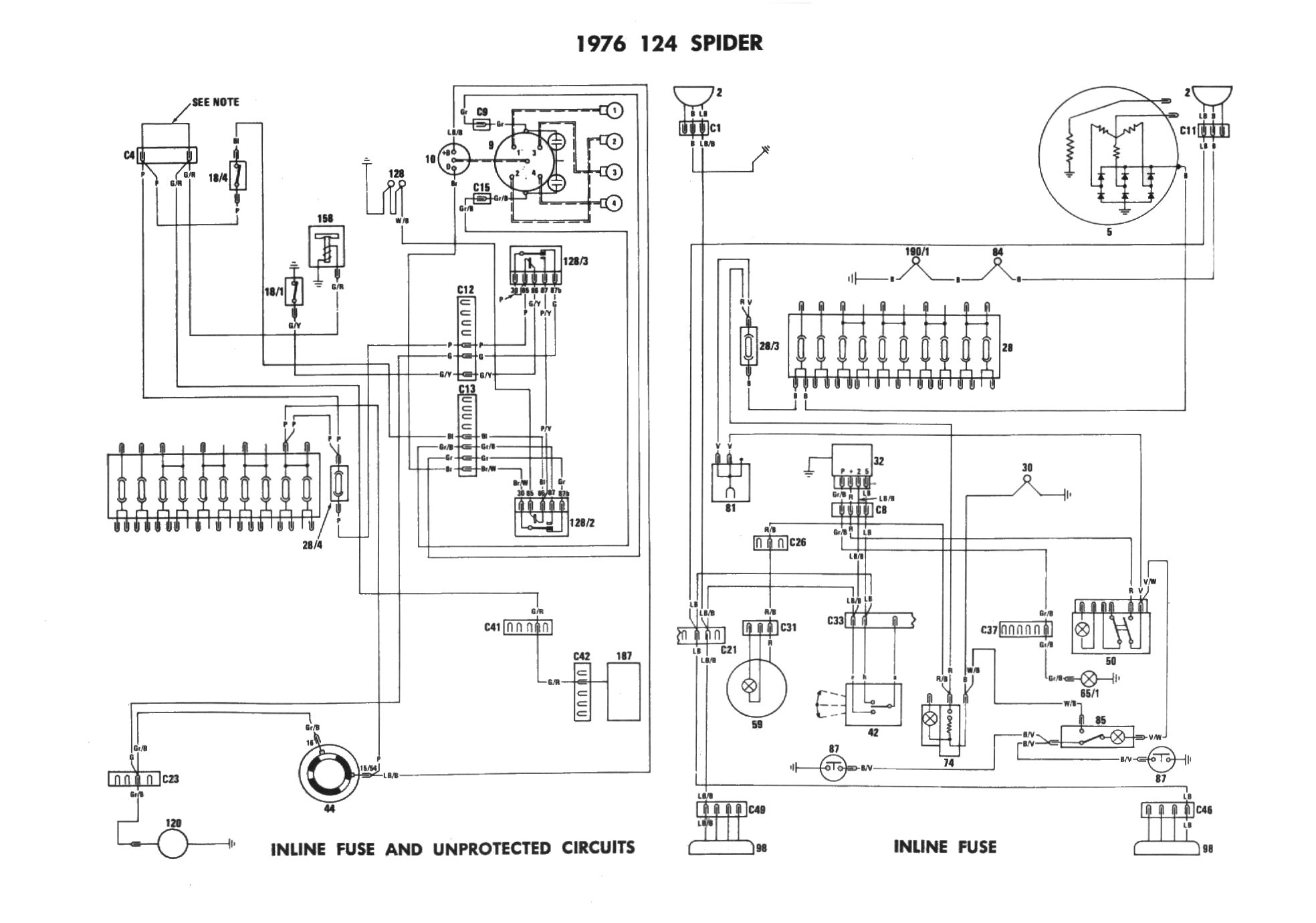 Alfa Romeo Spider Wiring Diagram Alfa Wiring Diagram Images