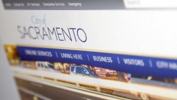 New City of Sacramento website