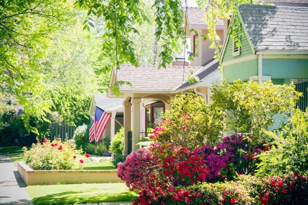 East Sacramento neighborhood