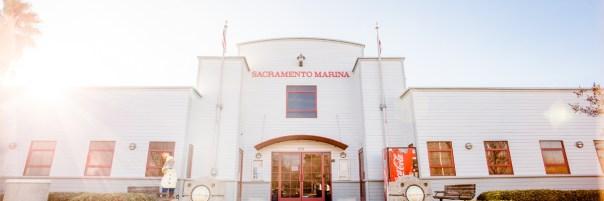 photo of the marina