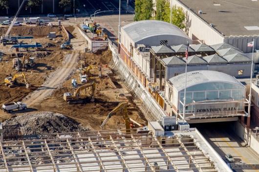 Demolition for the ESC