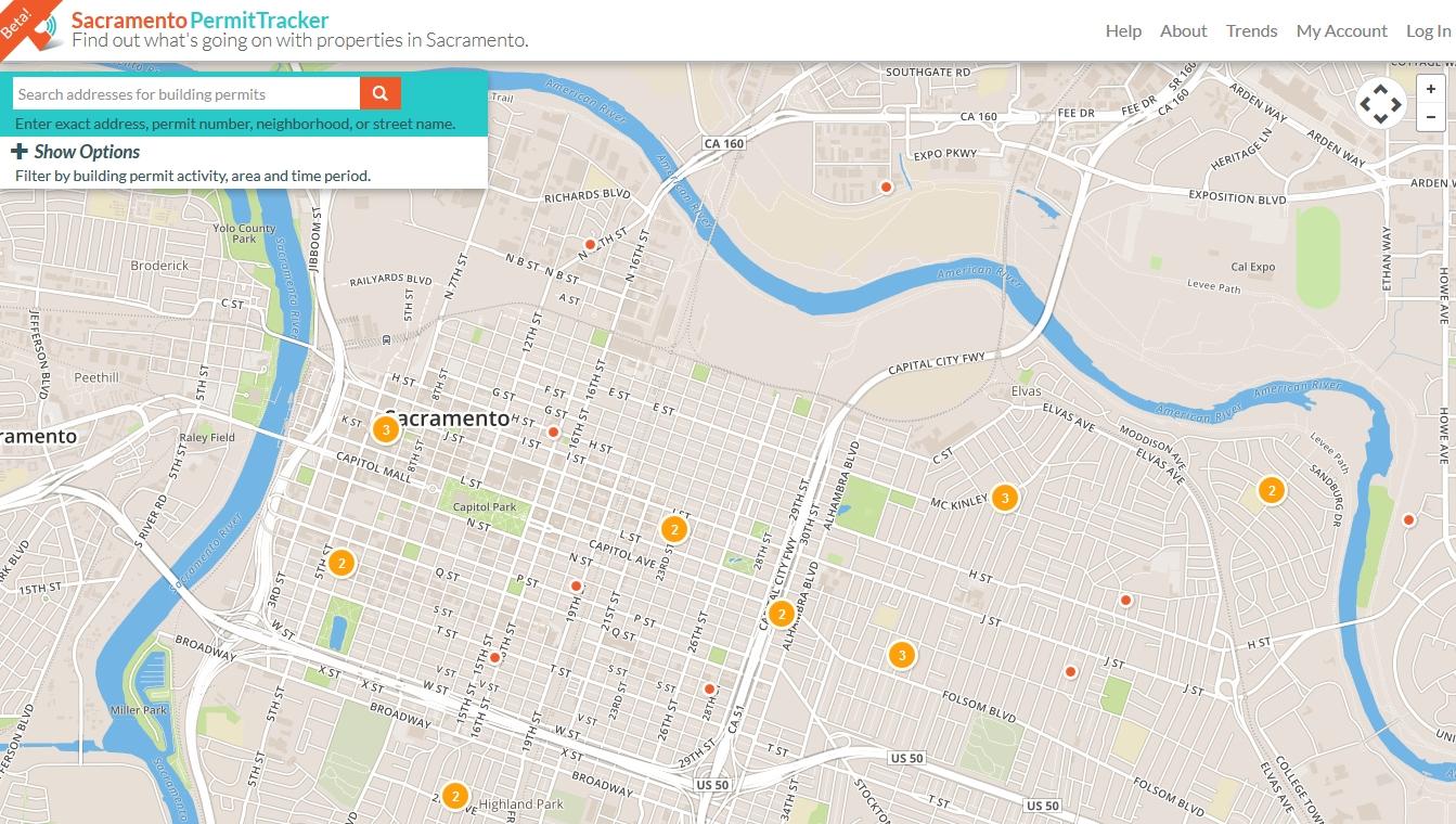 Sacramento Permit Tracker