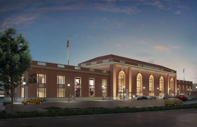 Sacramento Valley Station Rendering