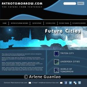 Web Page Mockups