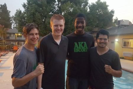 Austin is baptized into Christ!