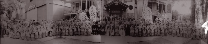 Founders Day, April 28, 1934.